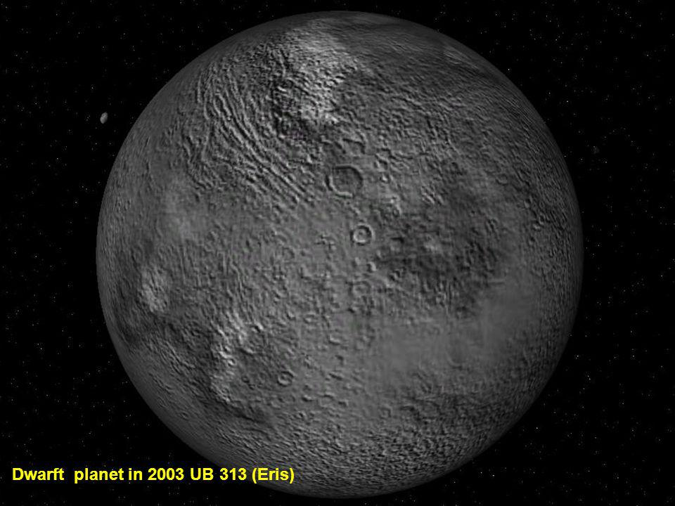 Dwarft planet in 2003 UB 313 (Eris)