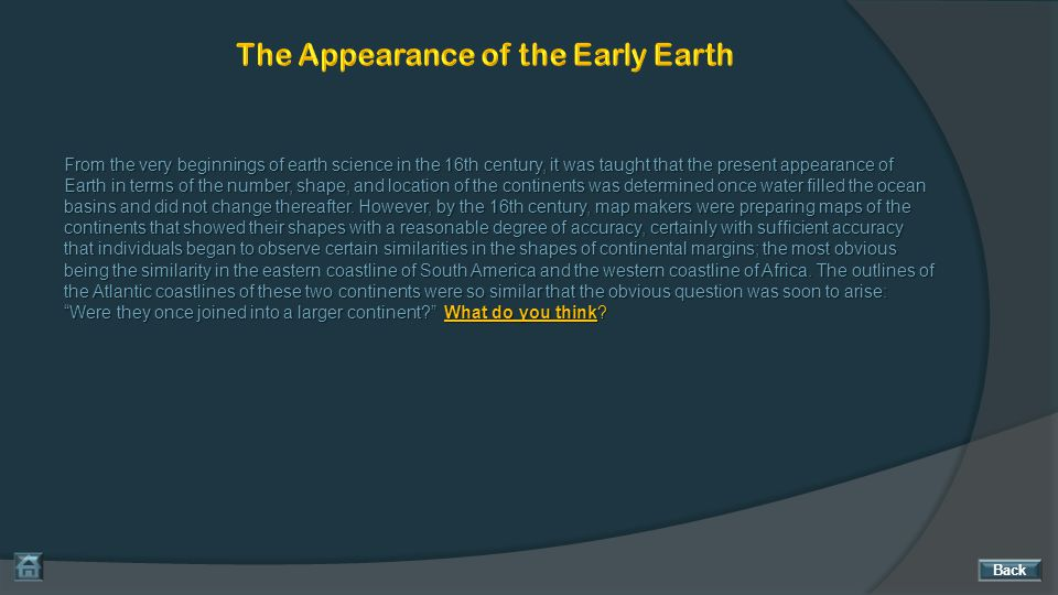 The Appearance of the Early Earth