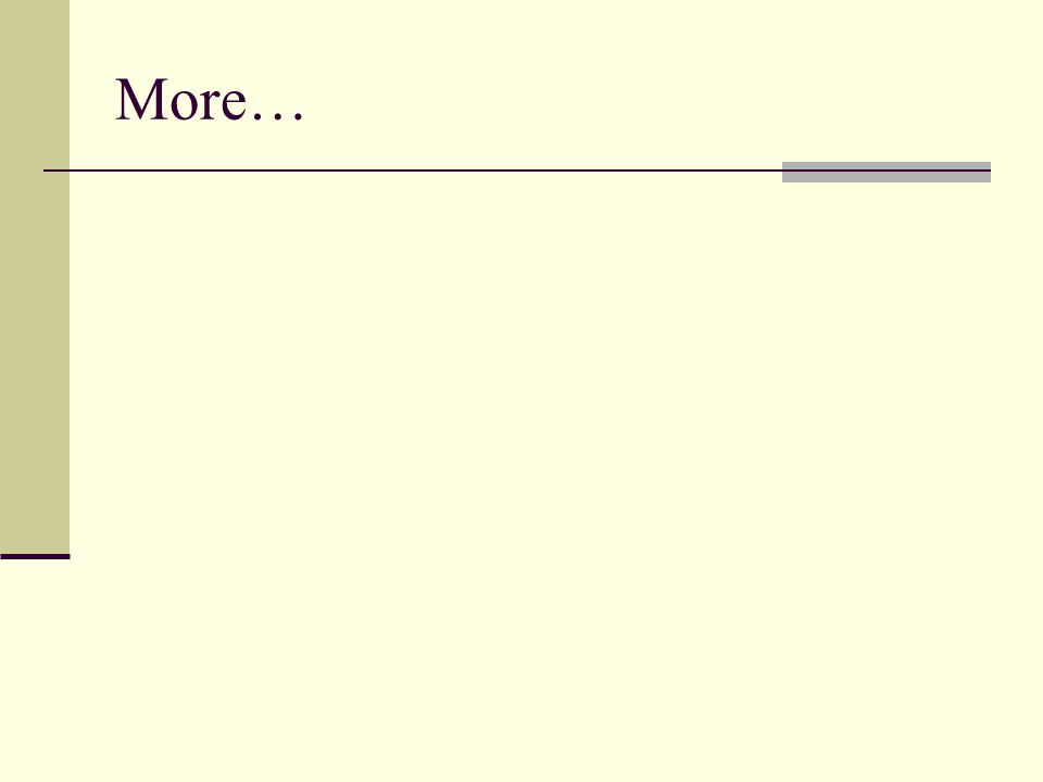 More…