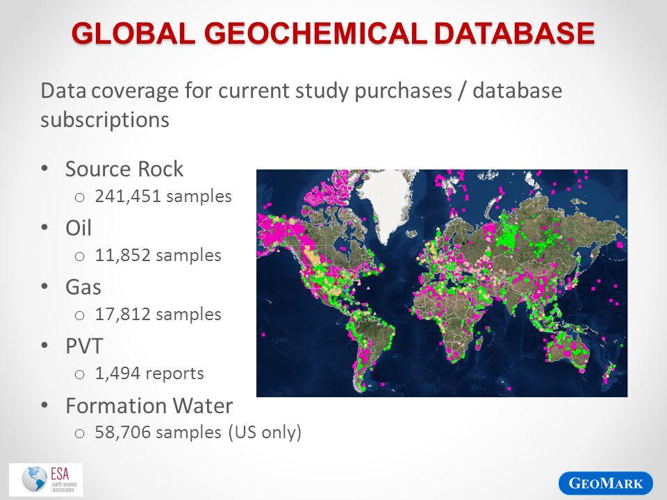 Global Geochemical Database