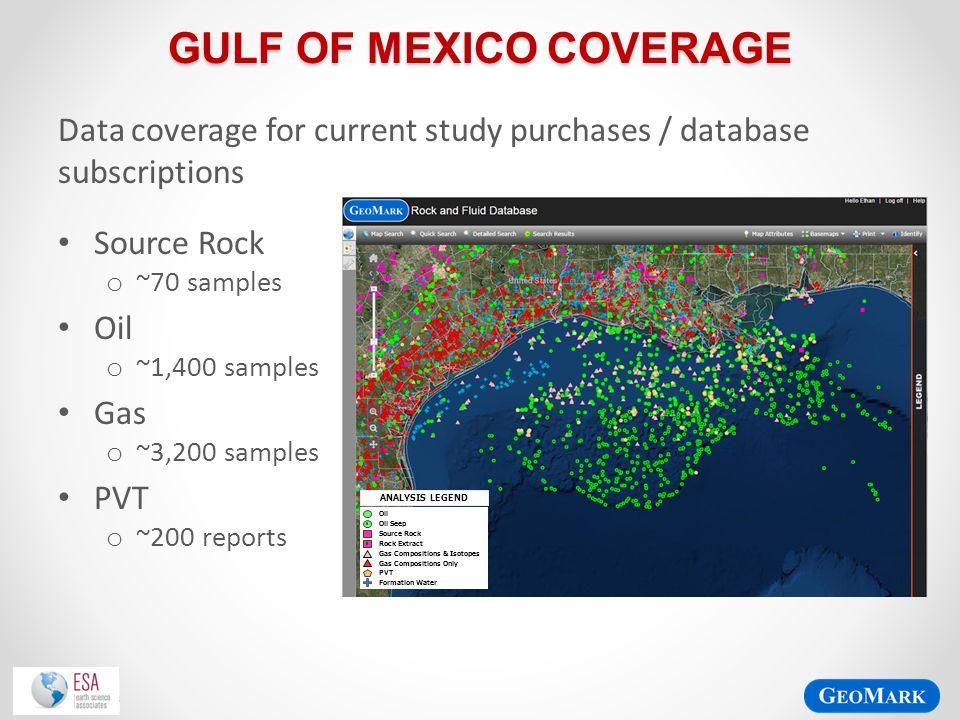 Gulf of Mexico Coverage