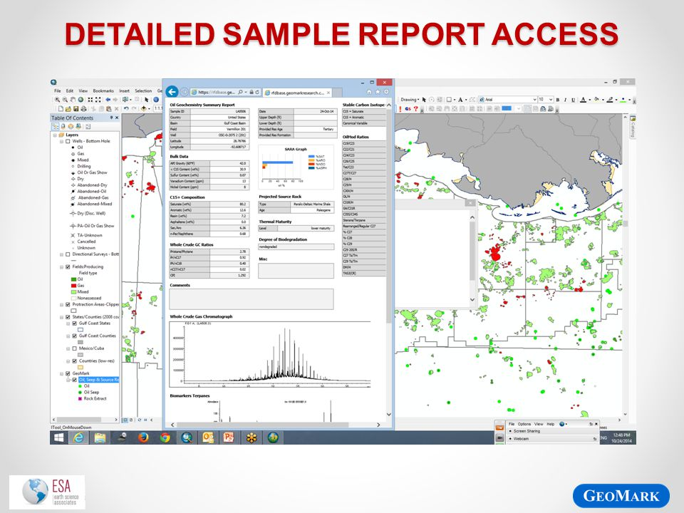 Detailed Sample Report access