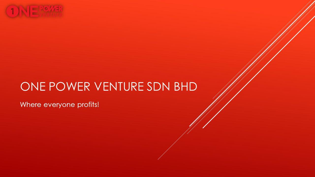 One power venture sdn bhd