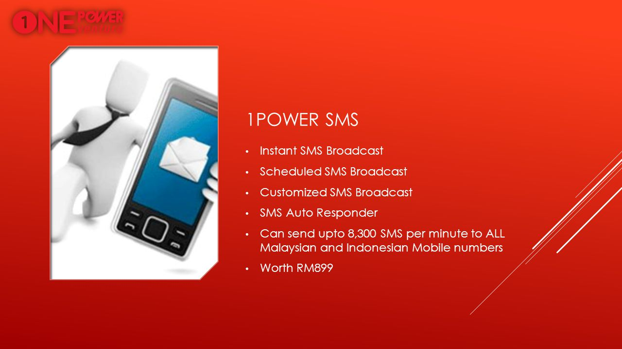 1power sms Instant SMS Broadcast Scheduled SMS Broadcast