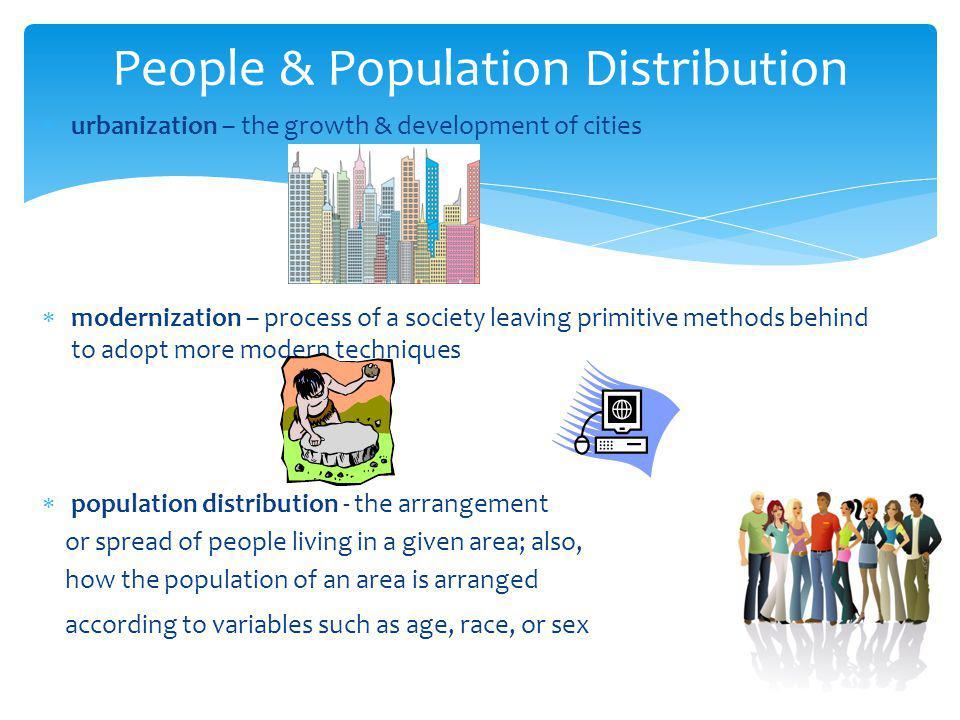 People & Population Distribution