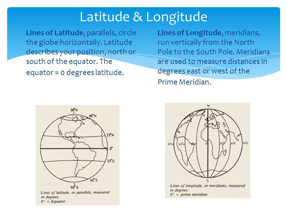 Latitude & Longitude