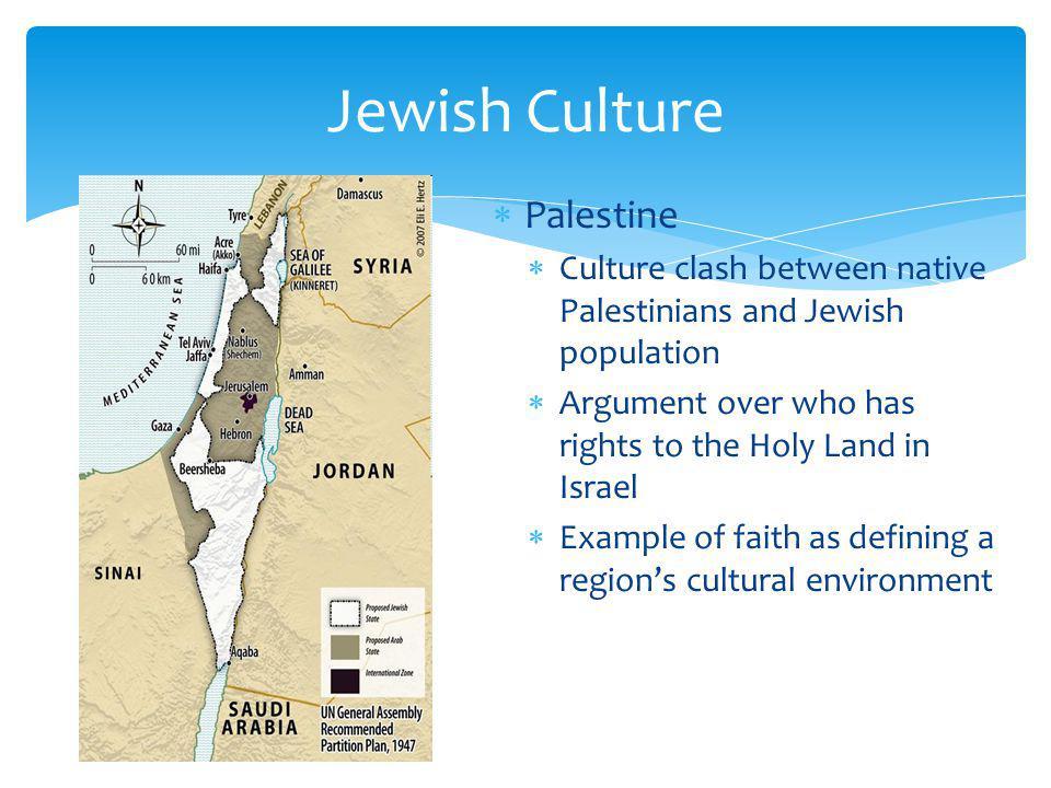 Jewish Culture Palestine