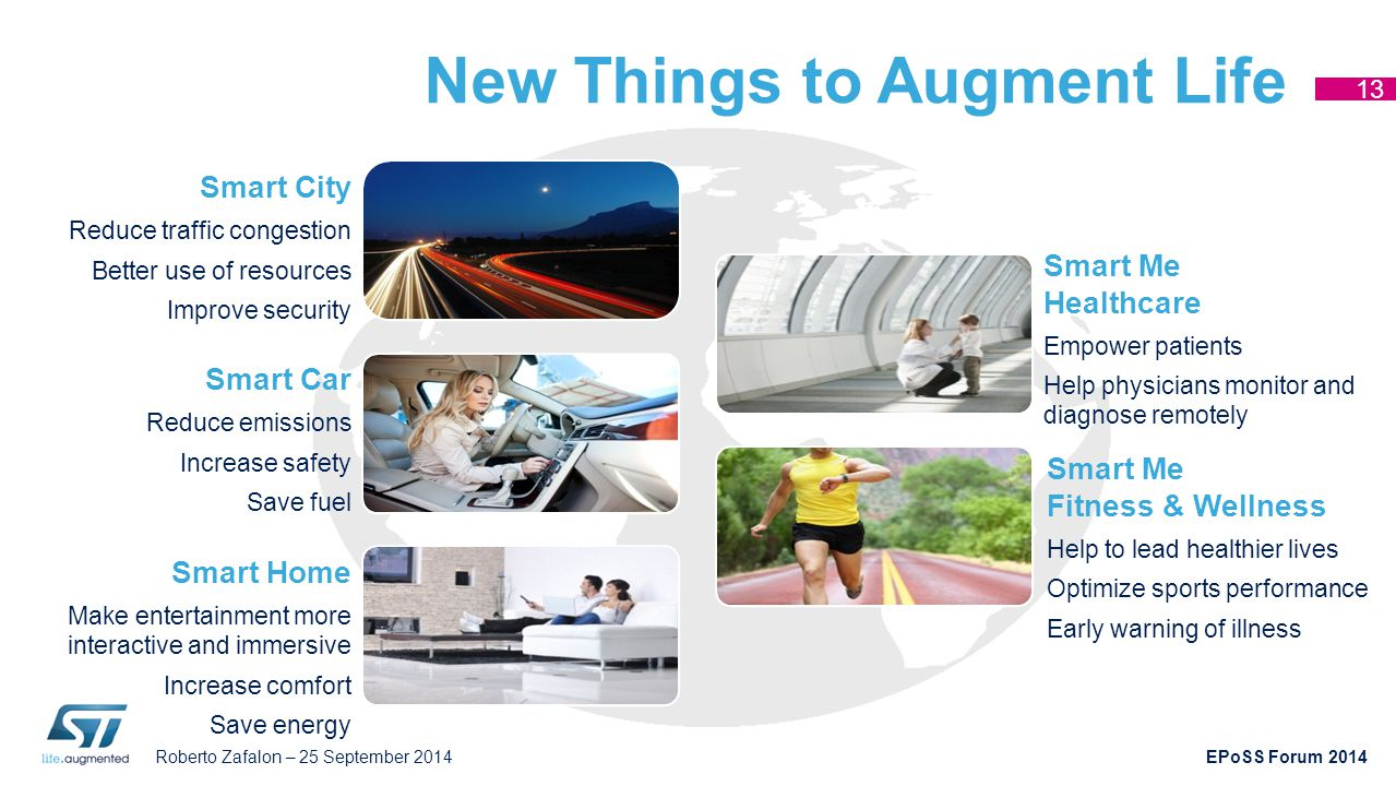New Things to Augment Life