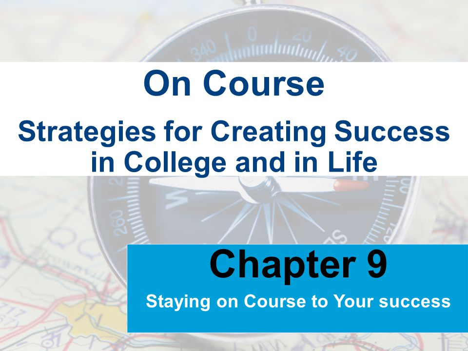 Strategies for Creating Success in College and in Life