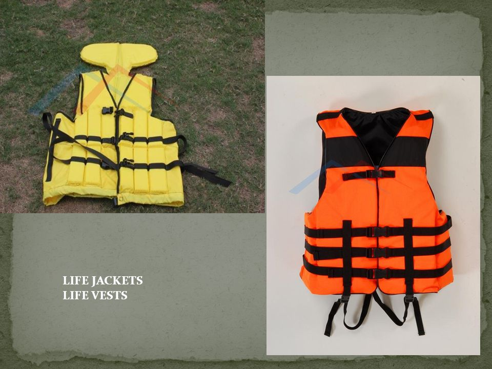 LIFE JACKETS LIFE VESTS