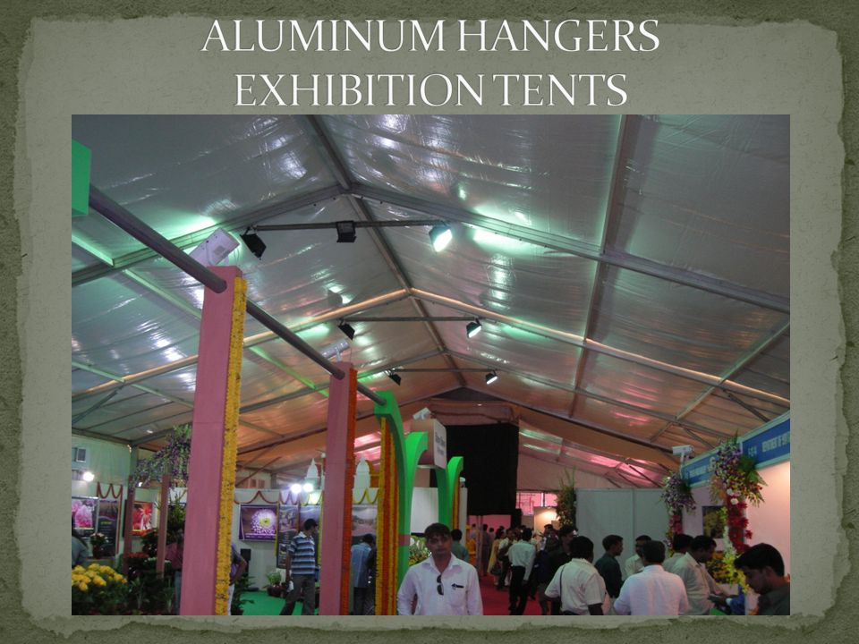 ALUMINUM HANGERS EXHIBITION TENTS