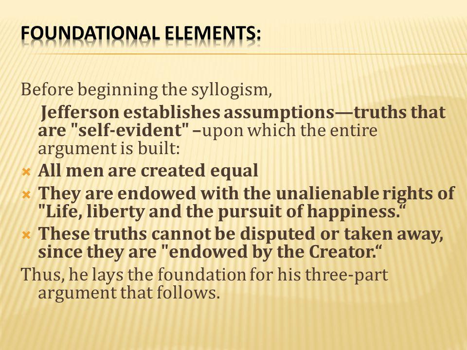 Foundational elements: