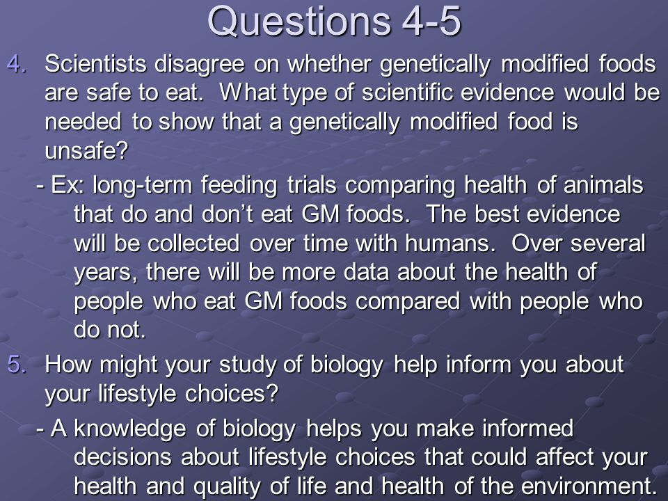 Questions 4-5