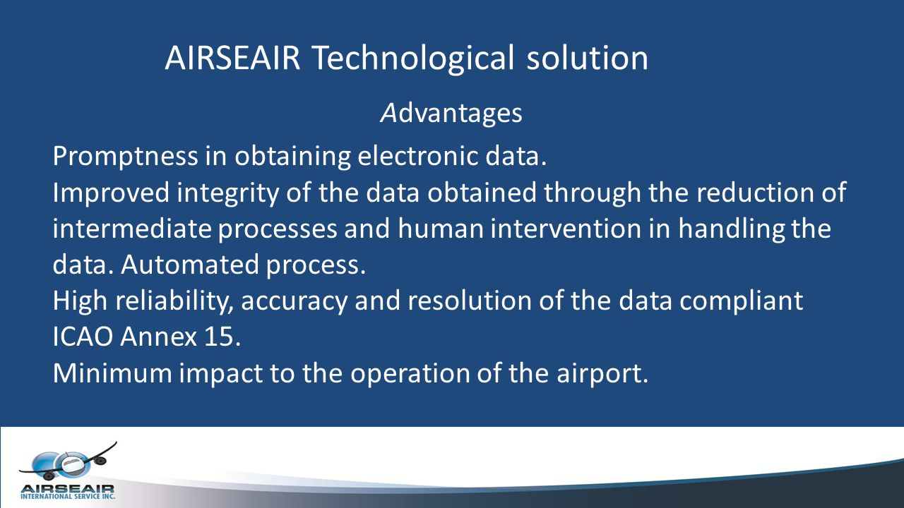 AIRSEAIR Technological solution
