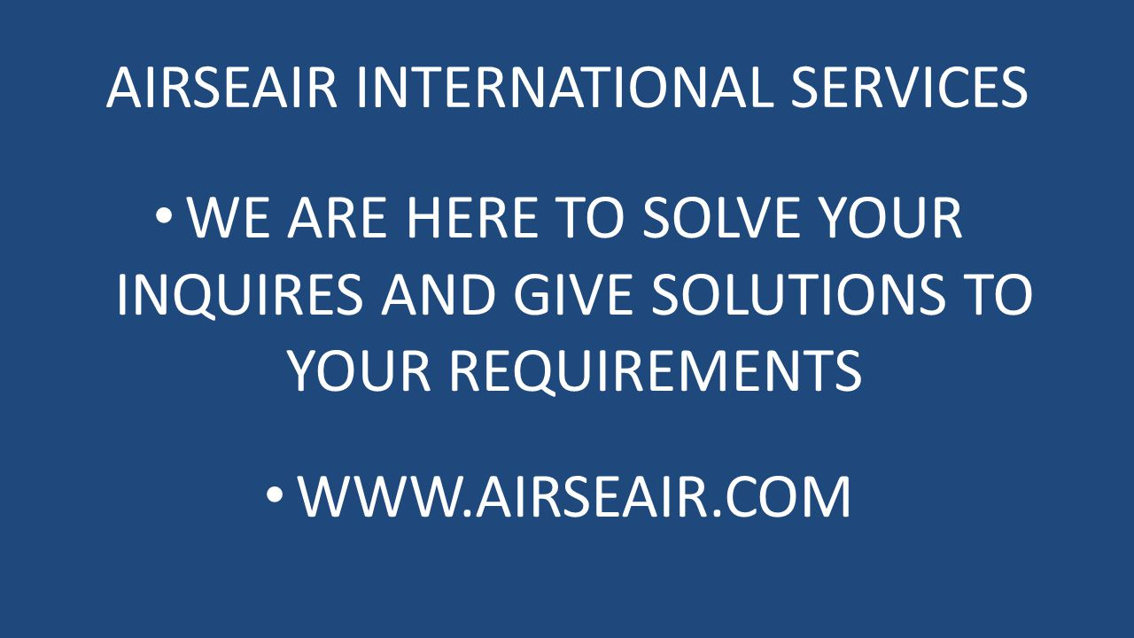 AIRSEAIR INTERNATIONAL SERVICES