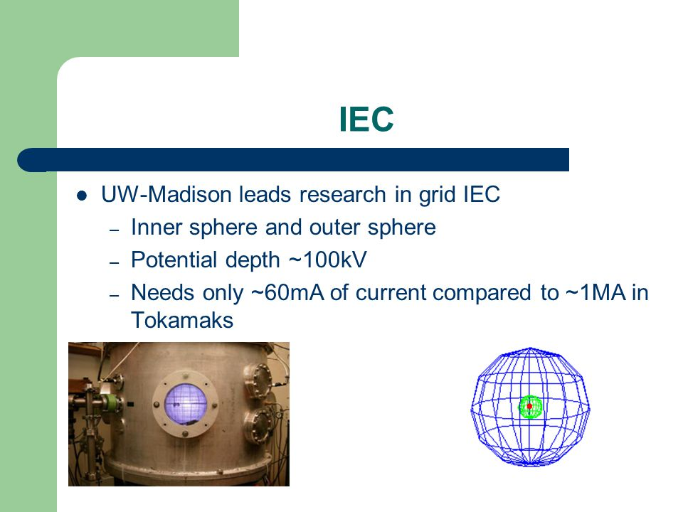 IEC UW-Madison leads research in grid IEC