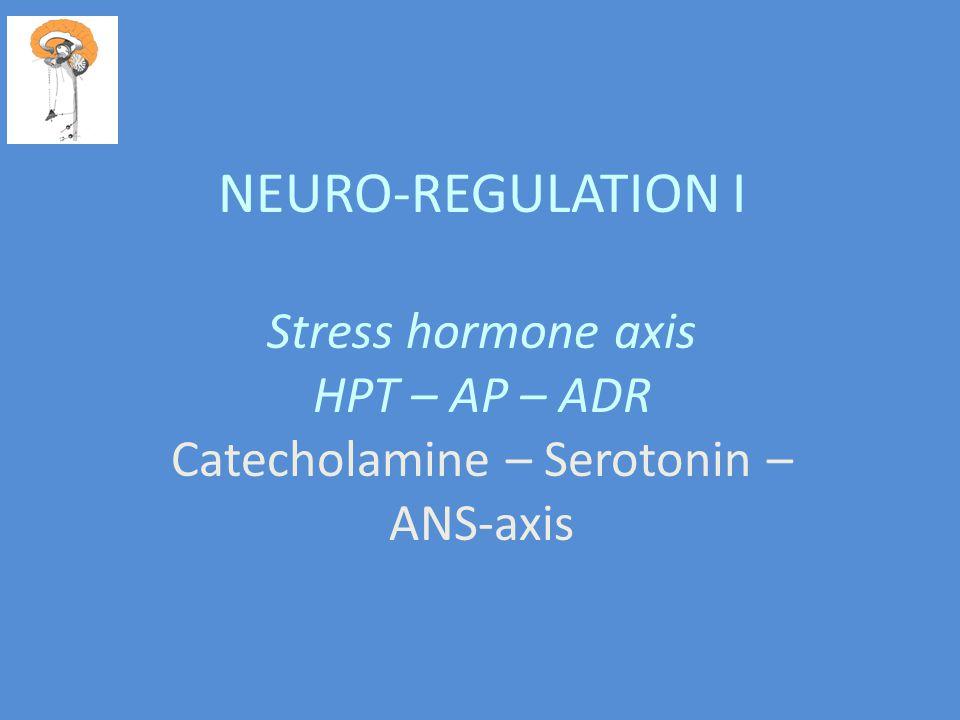 Catecholamine – Serotonin – ANS-axis