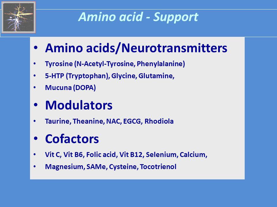Amino acids/Neurotransmitters
