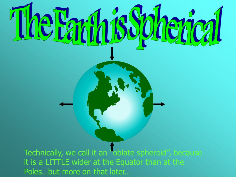 The Earth is Spherical