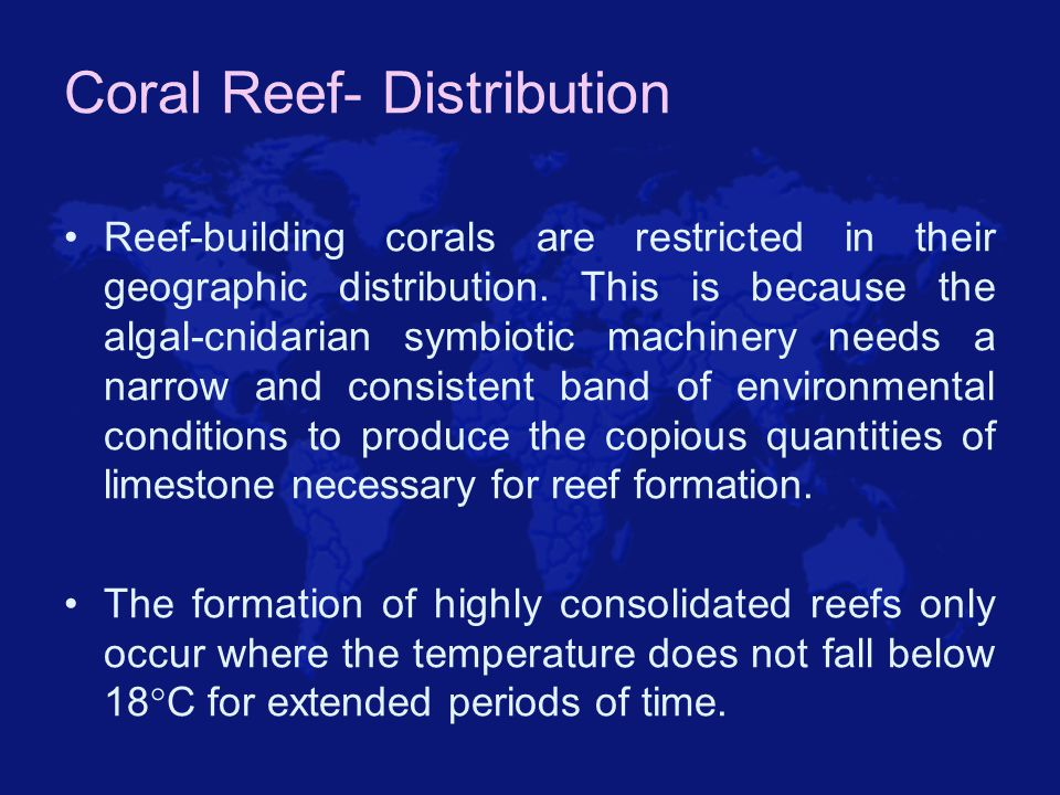 Coral Reef- Distribution