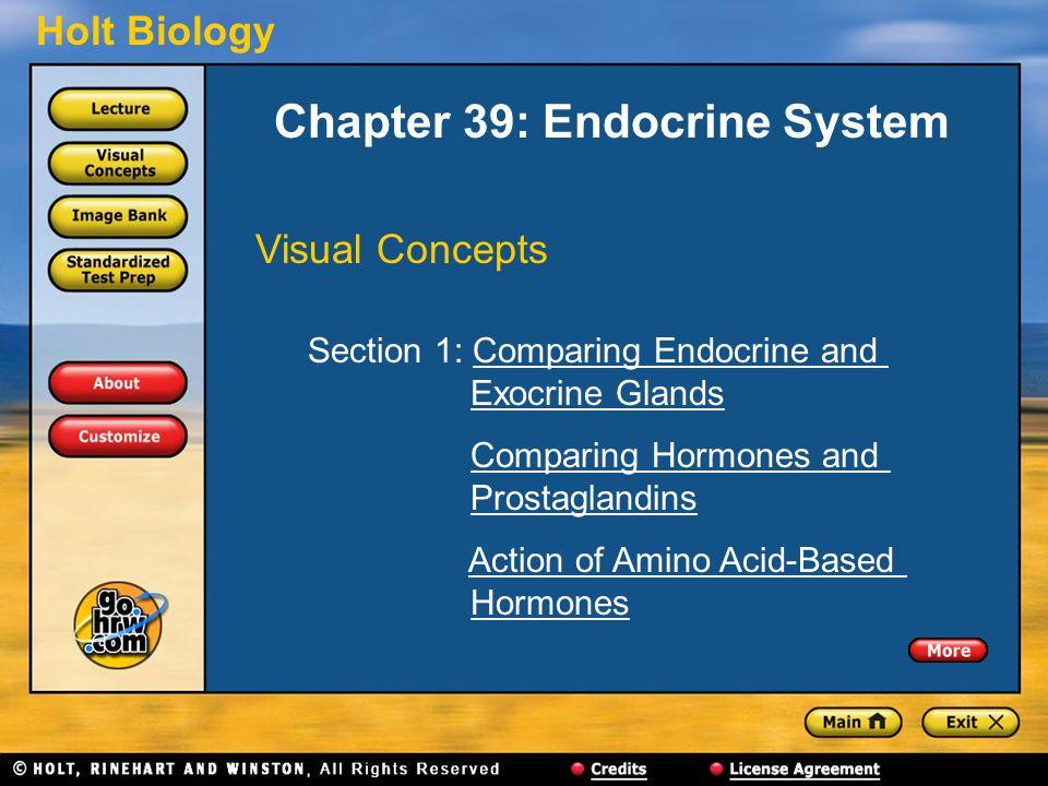 Chapter 39: Endocrine System