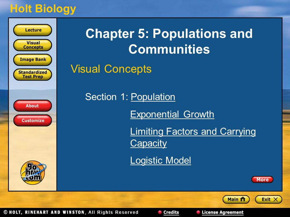 Chapter 5: Populations and Communities