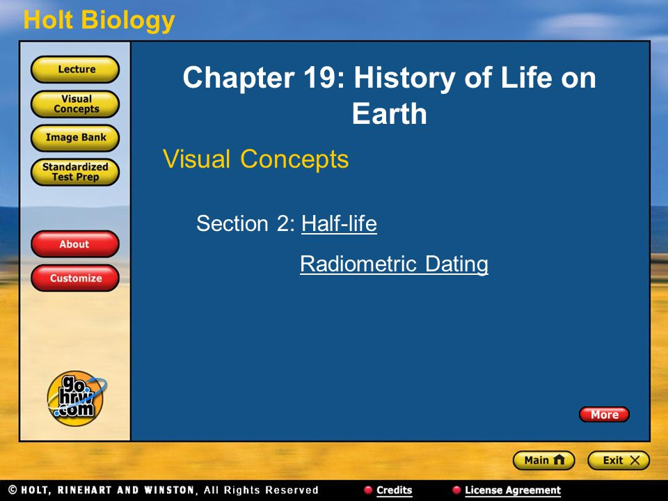 Chapter 19: History of Life on Earth