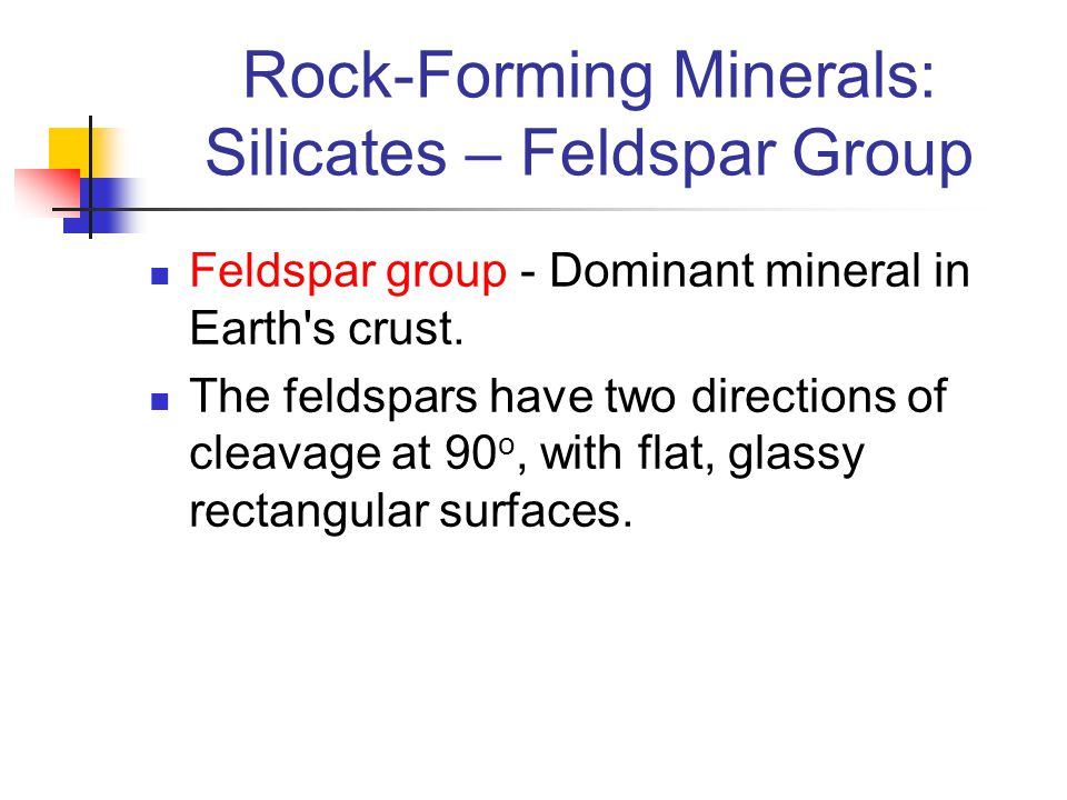 Rock-Forming Minerals: Silicates – Feldspar Group