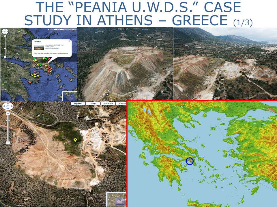 THE PEANIA U.W.D.S. CASE STUDY IN ATHENS – GREECE (1/3)