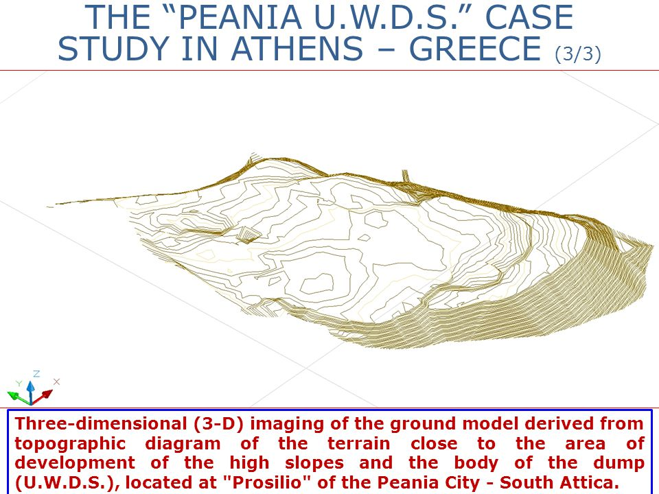 THE PEANIA U.W.D.S. CASE STUDY IN ATHENS – GREECE (3/3)