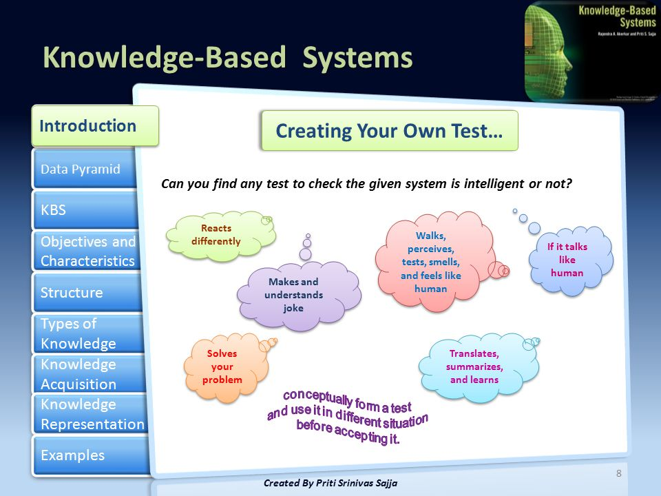 Creating Your Own Test…