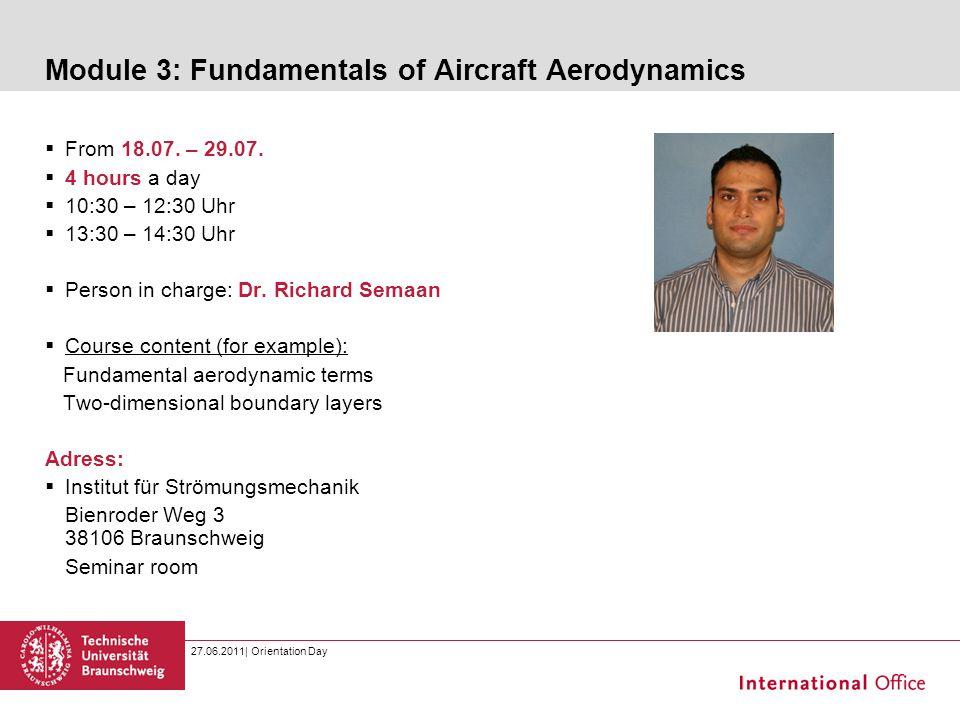 Module 3: Fundamentals of Aircraft Aerodynamics