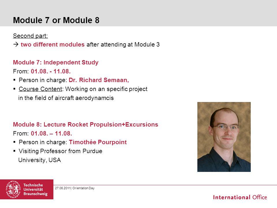 Module 7 or Module 8 Second part:
