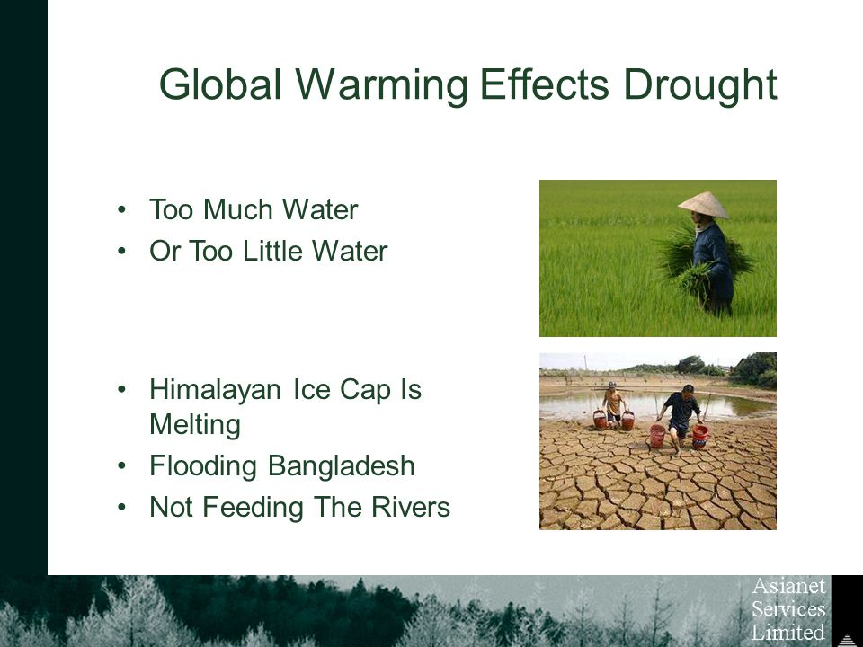 Global Warming Effects Drought