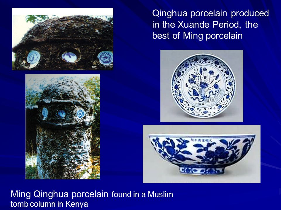 Qinghua porcelain produced in the Xuande Period, the best of Ming porcelain