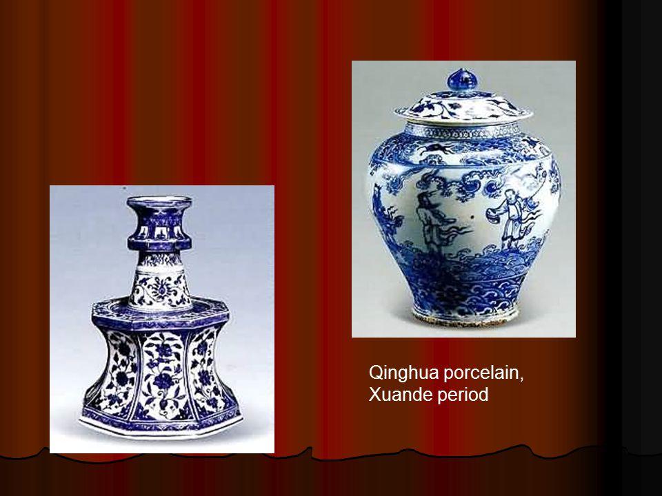 Qinghua porcelain, Xuande period