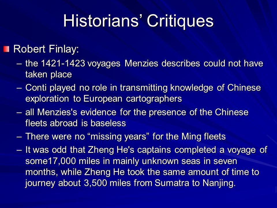 Historians' Critiques