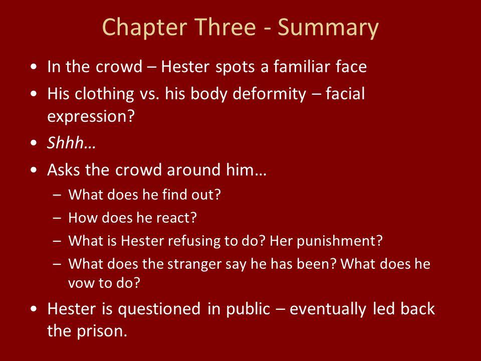 Chapter Three - Summary
