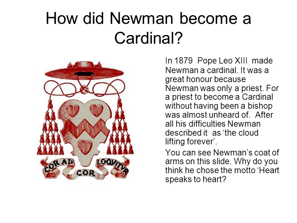 How did Newman become a Cardinal