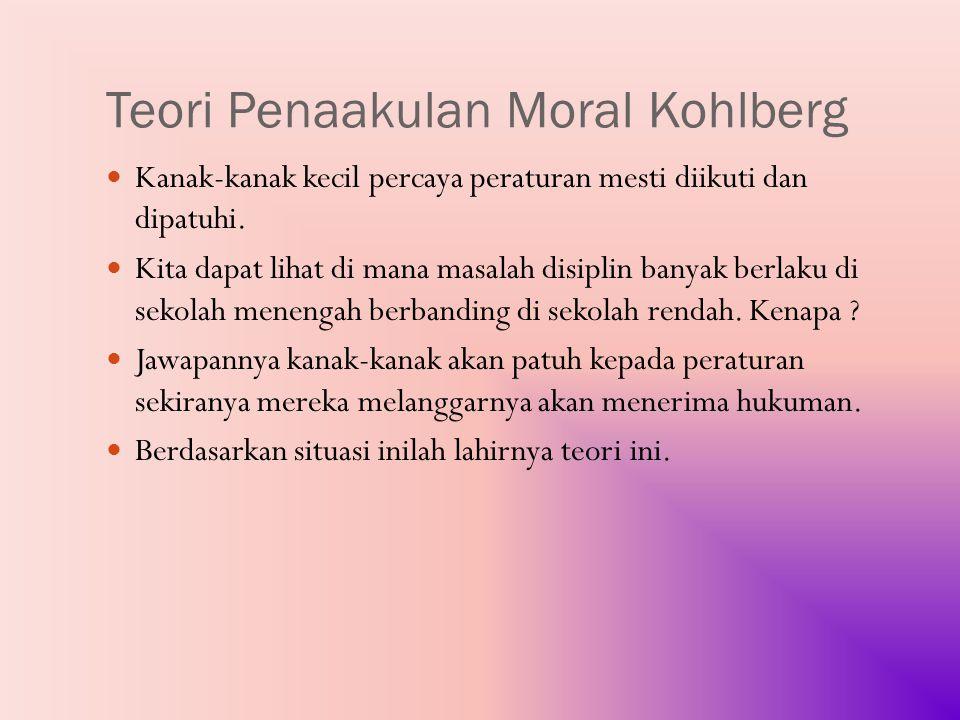 Teori Penaakulan Moral Kohlberg
