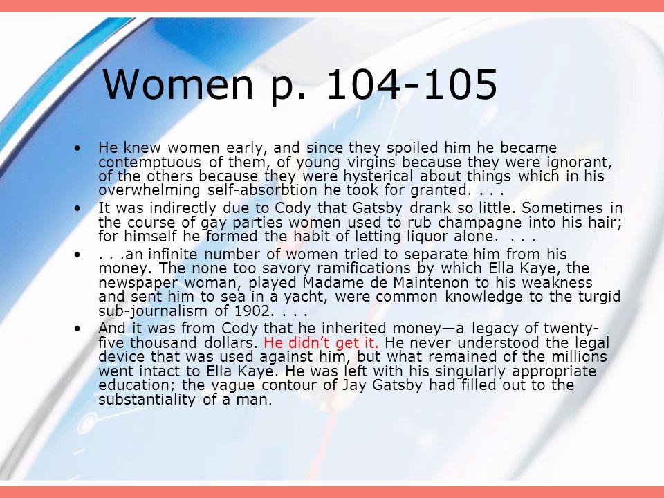 Women p. 104-105