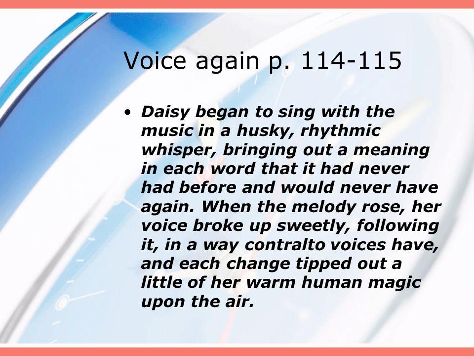 Voice again p. 114-115
