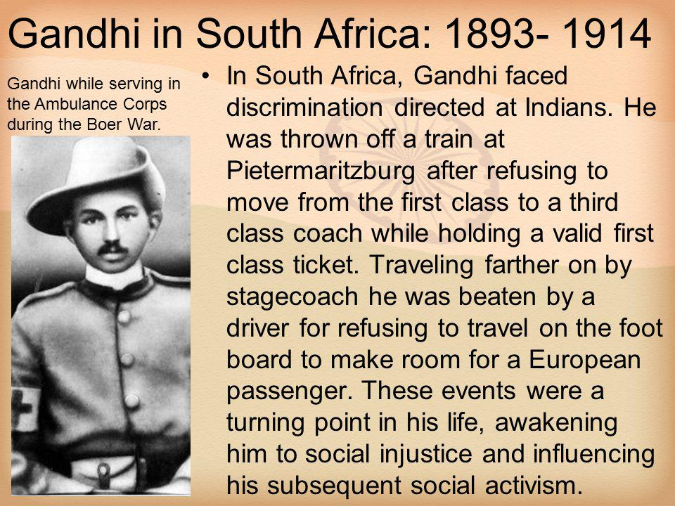 Gandhi in South Africa: 1893- 1914