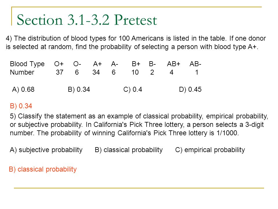 Section 3.1-3.2 Pretest