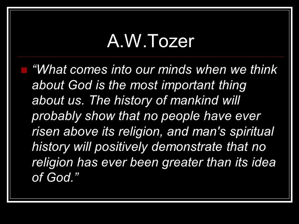 A.W.Tozer