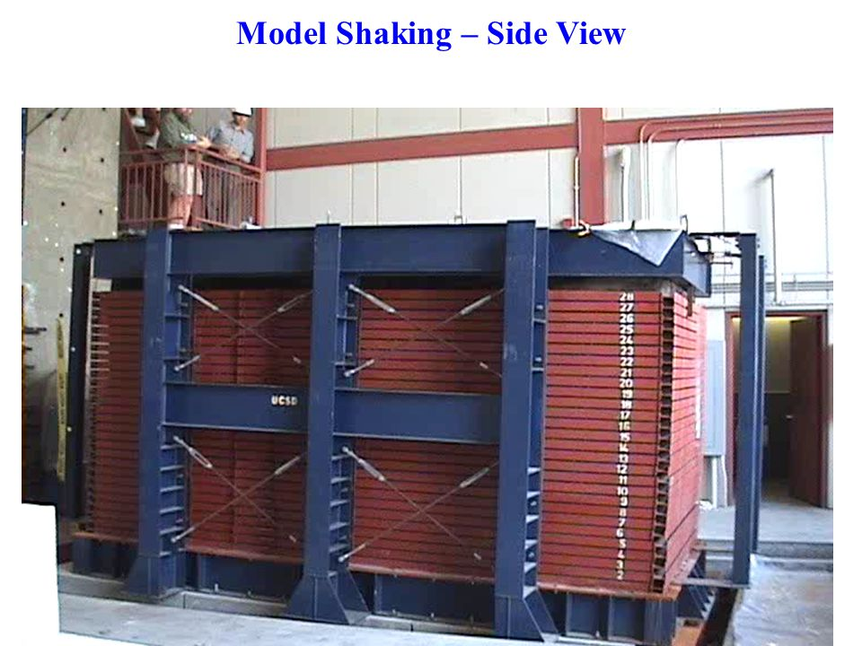 Model Shaking – Side View