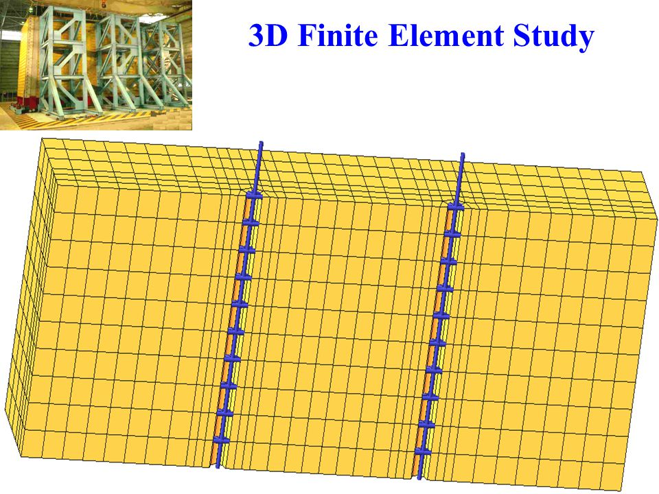 3D Finite Element Study