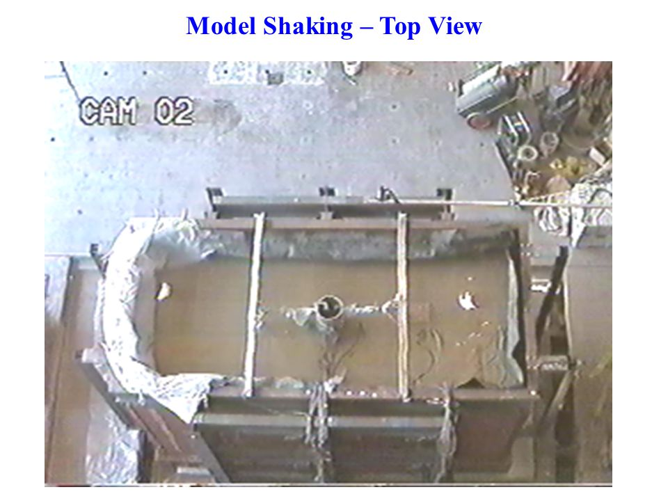 Model Shaking – Top View