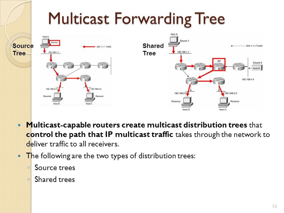 Multicast Forwarding Tree