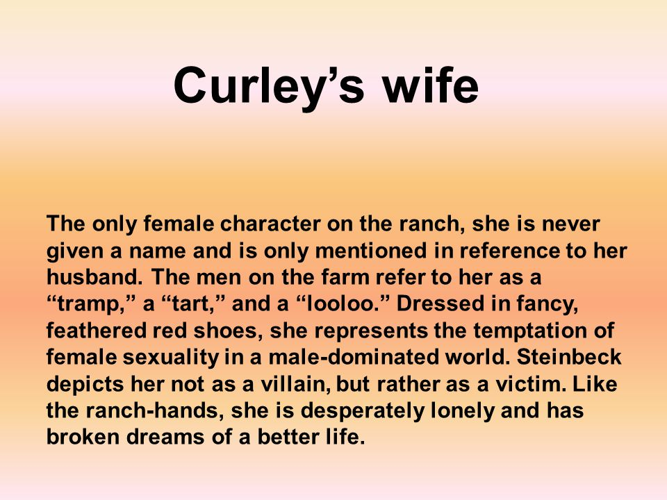 Curley's wife